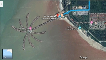 2018-10-15 15_56-Sungai Besi to AVANI Sepang Goldcoast Resort - Google Maps - Internet Explorer